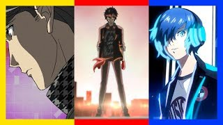Persona 3/4/5 Dancing - Openings + Opening Theme Lyric Videos [P4D • P5D • P3D]