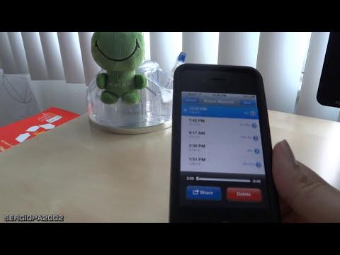 Trucos y Datos del Iphone: Gravador de Voz (Voice Recorder) y Sonido del Iphone