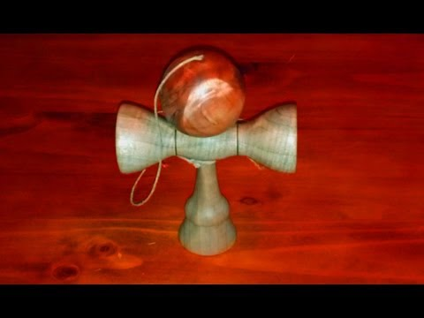 Woodturning Kendama Toy