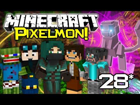 WILD MEW APPEARS! Minecraft PixelCore PIXELMON Let's Play! - Ep 28