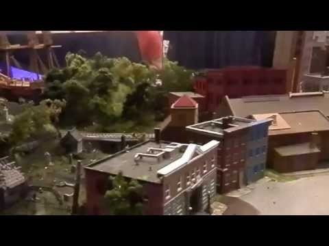 Sun Youth Org. Model Train Exposition - Montreal Comic Con 2015