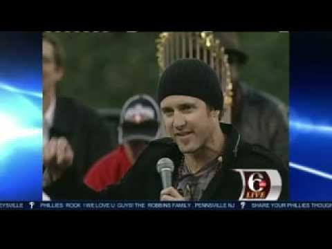 Chase Utley World Champions Parade Speech Video