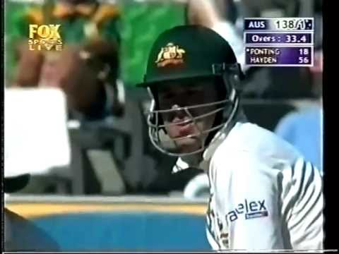 4th innings match wining ton, Ricky Ponting 100* vs South Africa