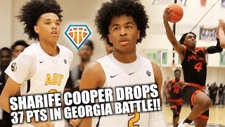 Sharife Cooper JELLIES HIS WAY TO 37 & 12 to Get The Tip-Off Classic ROLLING!! | AOT vs Game Elite
