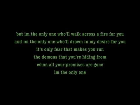 I'm The Only One - Melissa Etheridge Lyrics [on Screen] video