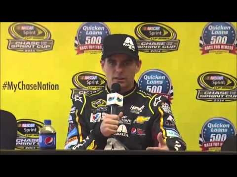 Jeff Gordon Phoenix Post-Race NASCAR Video News Conference