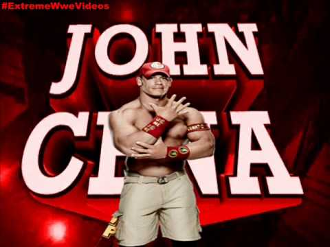 Wwe: the Time Is Now ► John Cena 6th Theme Song Red T-shirt 2014 video