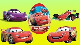 50 Kinder Surprise Surprise eggs Disney Pixar Cars Киндер сюрпризы Тачки
