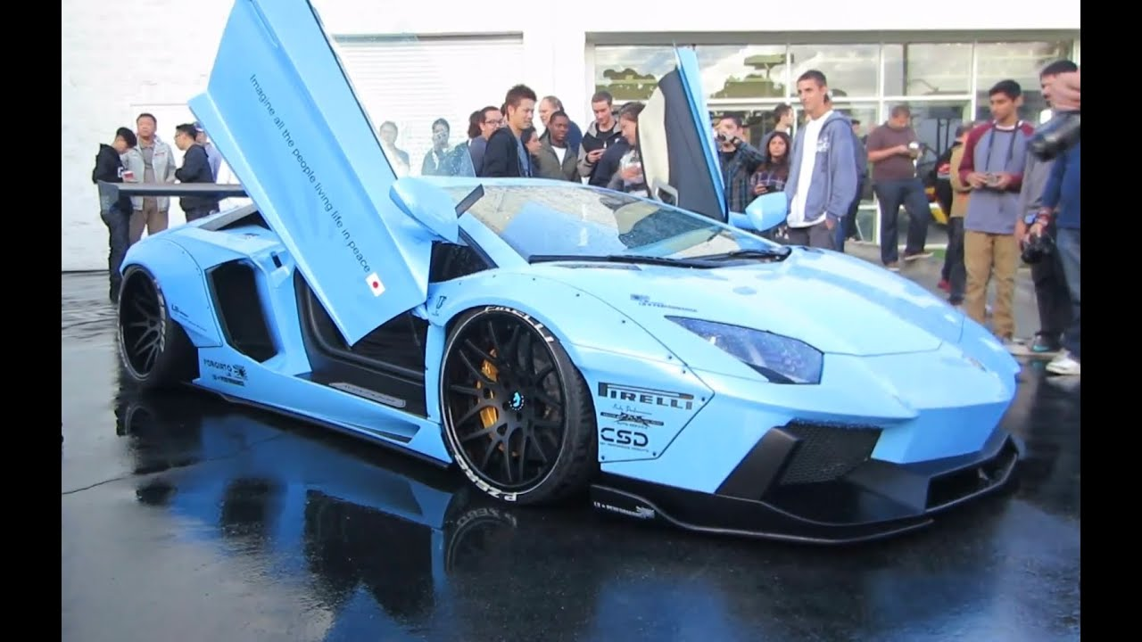 Liberty Walk Lb Performance Lamborghini Aventador Youtube
