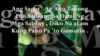 Panghawakan Mo Lang By Smugglaz (Lyrics)