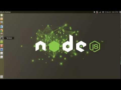 Fácil y rápido: Instalar Node.js y npm en Ubuntu 12.10