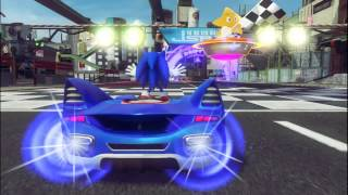 Sonic And All Stars Racing Transformed (Downtown Drift)
