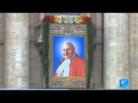 Vatican performs historic double canonisation in Rome