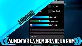 Aumentar la memoria de la RAM de Nuestro android LG® L5 ROOT