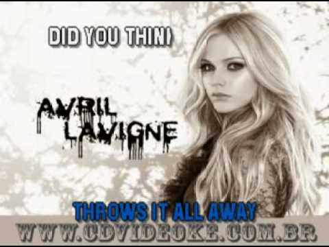 Avril Lavigne   Dont Tell Me