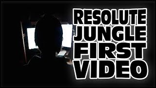 RESOLUTE JUNGLE FIRST VIDEO (POSSIBLE COMPUTER BOY CONNECTION)