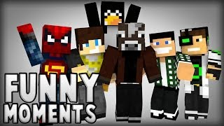 MANDZIO MINECRAFT FUNNY MOMENTS #1!