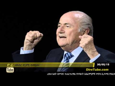 DireTube News - Sepp Blatter re-elected as Fifa president for fifth term