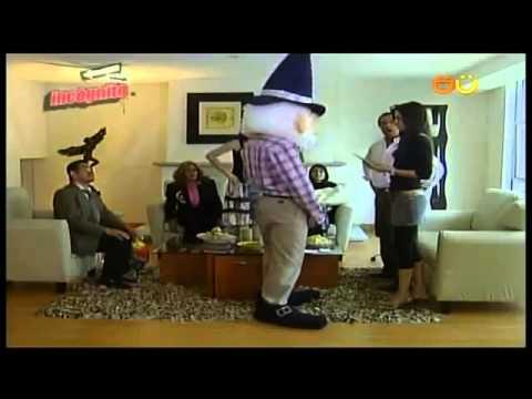 Jaime duende visita a sus compadres