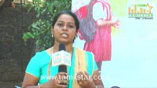 Jayarathi Lawrence At Nisaptham Movie Team Interview