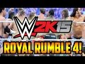 WWE 2K15 (PS4) FULL 30-Man Royal Rumble Part 4! (w/FaceCam)