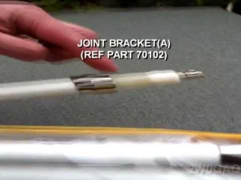 Diamond X-7000 Triband Amateur Radio Antenna