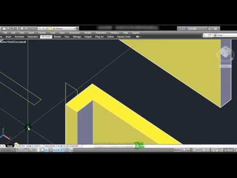 Modelar una Casa con Autocad 2012