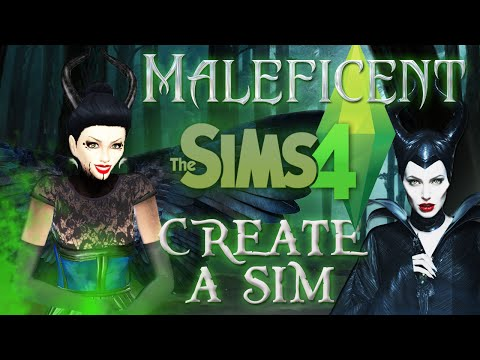 The Sims 4: CAS Disney's MALEFICENT