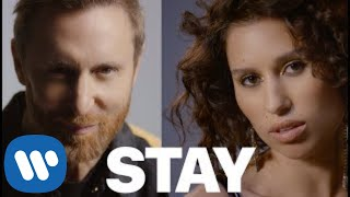 Клип David Guetta - Stay (Don't Go Away) ft. Raye