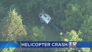 Pilot Injured In Helicopter Crash In Navarro County