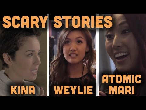 My Scariest Memory..... Ft. Weylie, Atomic Mari, and Kina Grannis - HAPPY HALLOWEEN!