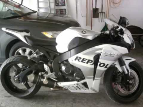 08 White Repsol Honda Cbr1000rr Youtube