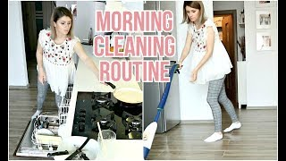 MORNING CLEANING ROUTINE 2019 | DAILY CLEANING ROUTINE OF A MOM | SPEED CLEAN WITH ME
