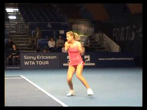 Lucie Safarova in Luxembourg 2007 Video