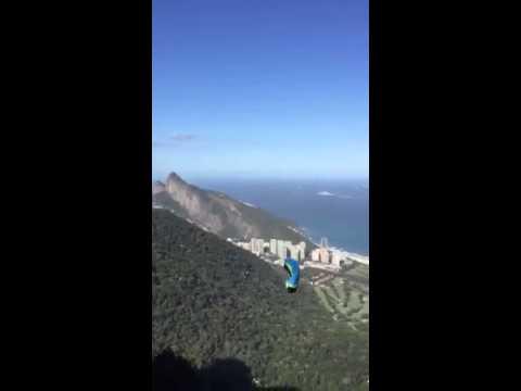 Acidente  Fatal do piloto de SPEEDFLY Rio de Janeiro