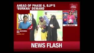 BJP's Demand For Check On Burqa Clad Voters Triggers Controversy