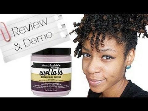 Hair Aunt Jackies Curl la la Defining Curl Custard Review