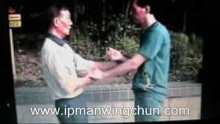 Grandmaster Ip Ching with Disciple, Master Samuel Kwok