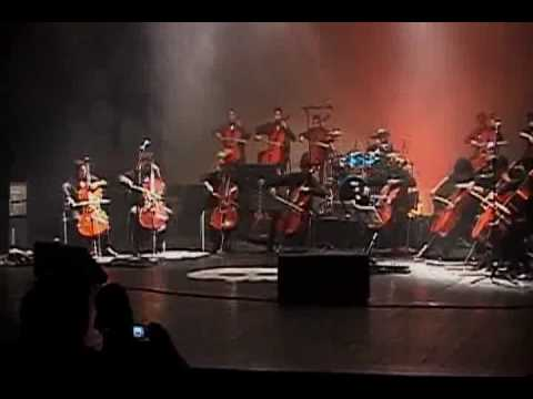 Bach Suit / Led Zeppelin Kashmir - Amazon Youth Cello Choir - Live Concert
