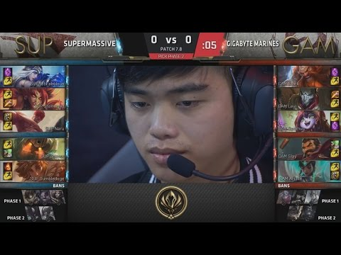 SUP (Stomaged Lee Sin) VS GAM (Levi Graves) Game 1 Highlights - 2017 MSI Play-In R2