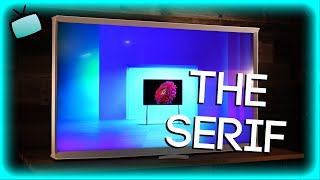 Samsung Serif - The Best Looking ART TV!