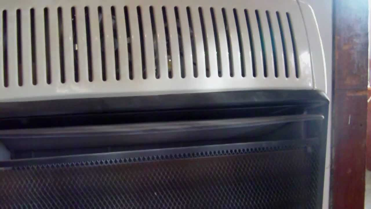 Vent Free Gas Heater Avi Youtube