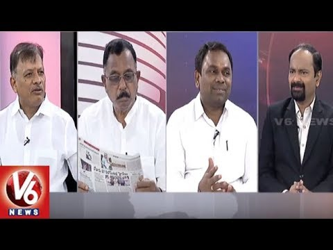 Special Debate Over Regional Parties Targeting BJP | Good Morning Telangana | V6 News