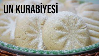 Nefis un kurabiyesi /sadece 3 malzeme ile katı yağ yok/ kurabiye tarifleri /Figen Ararat