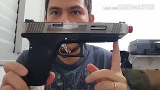Review Pistola de Airsoft GBB Green Gás Glock G35 WE