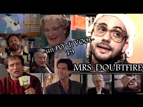 -un PO' di VOCI- 19: *MRS. DOUBTFIRE* (Omaggio a Robin Williams)