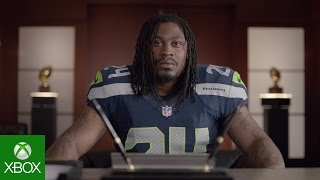 NFL on Xbox: Watching Highlights with Marshawn Lynch