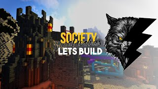 Minecraft Lets Build :: Society of Wolves :: Evil Church! Part 3
