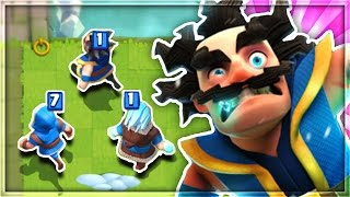 "WHAT HAPPENS IF YOU USE an ""ALL WIZARD"" DECK in Clash Royale!?"