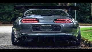 TOYOTA SUPRA --- Straight Pipe Compilation!
